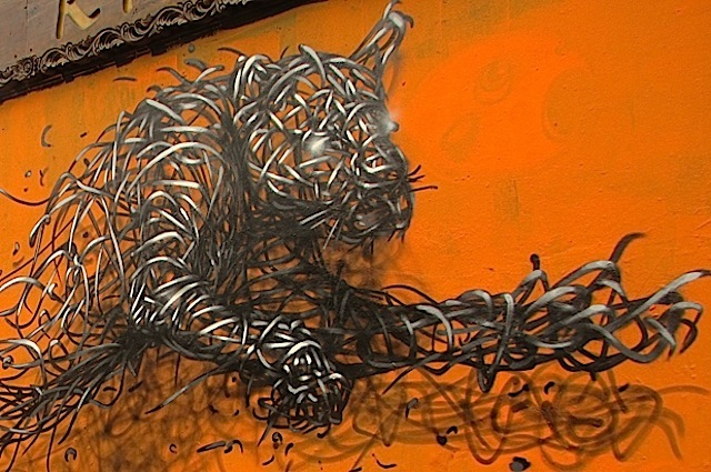 DALeast lion on Brick Lane