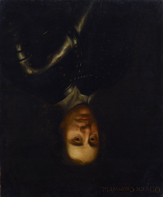 Oliver Cromwell (hung upside down). Highland Council