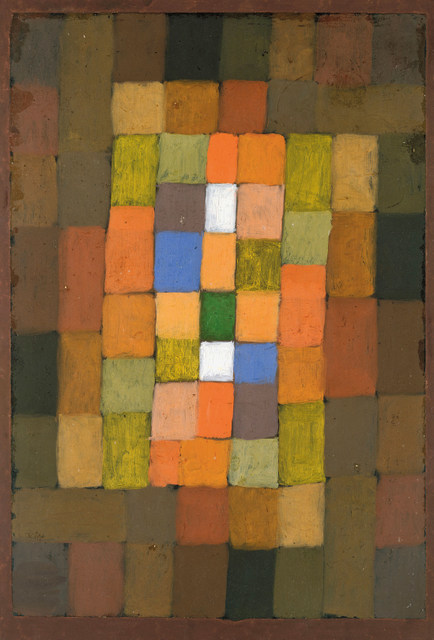 Klee, Paul (1879-1940): Static-Dynamic Gradation, 1923. New York, Metropolitan Museum of Art*** Permission for usage must be provided in writing from Scala.