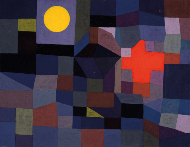 Paul Klee, Fire at Full Moon, 1933. Museum Folkwang, Essen, Germany