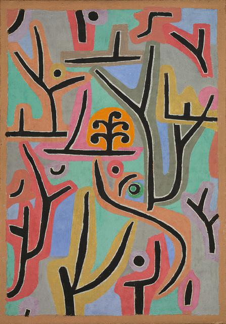 Paul Klee, Park near Lu, 1938. Zentrum Paul Klee