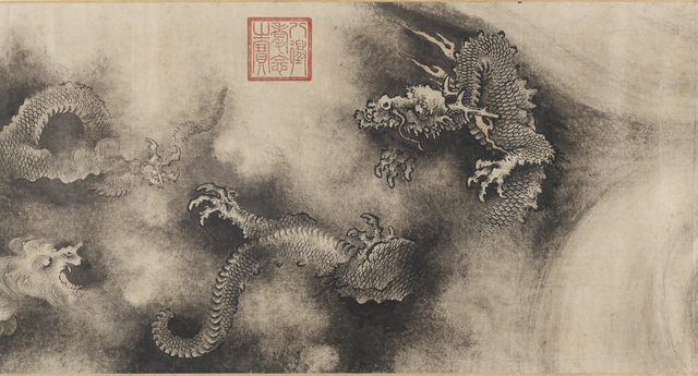 Nine Dragons (detail) Chen Rong 1244 Photograph © 2013 Museum of Fine Arts, Boston
