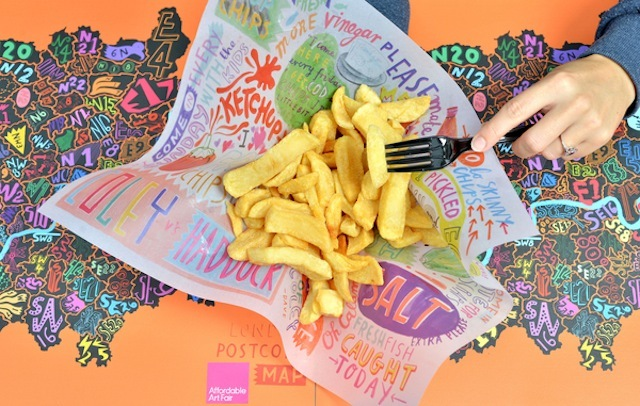 South London Chippy Gets First Ever Artist-In-Residence