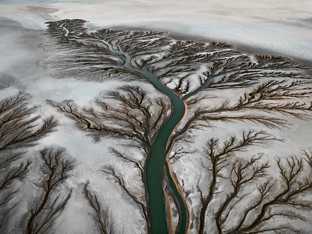 Colorado River Delta. Copyright Edward Burtynsky, courtesy Flowers London