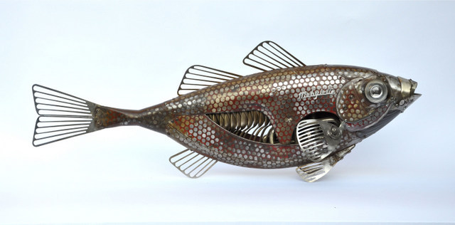 Fish, Edouard Martinet. Image courtesy the artist and Sladmore Contemporary.