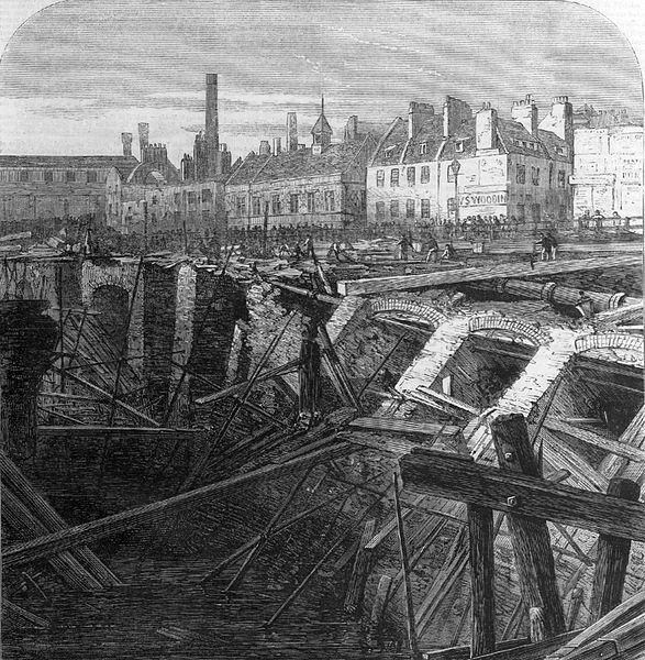 Underwater Tube A Short History Of Floods On The