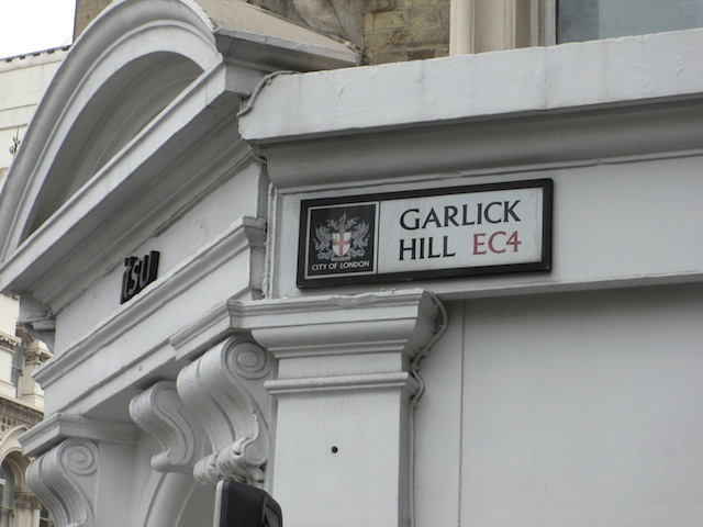 ...Garlick Hill.