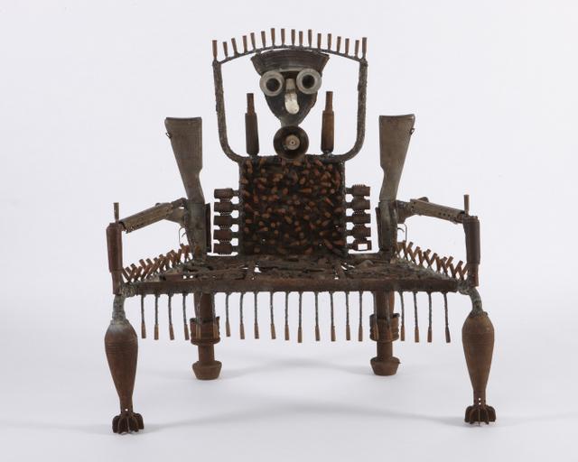 Gonçalo Mabunda, Untitled (Throne), 2013, Courtesy of Jack Bell Gallery