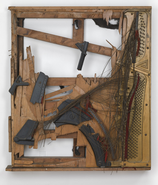 Duncan Terrace Piano Destruction Concert: The Landesmans' Homage to 'Spring can really hang you up the most' 1966. Raphael Montañez Ortiz (b.1934) Photograph: Tate Photography