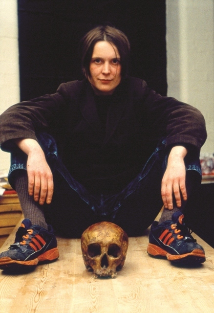 Self-Portrait with Skull 1996 Copyright the artist, courtesy Sadie Coles HQ, London