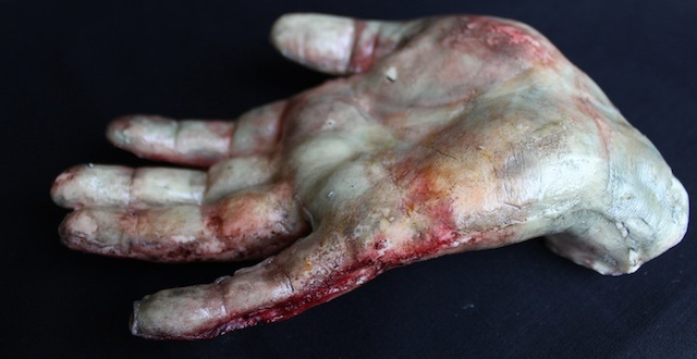 Edible severed hand.