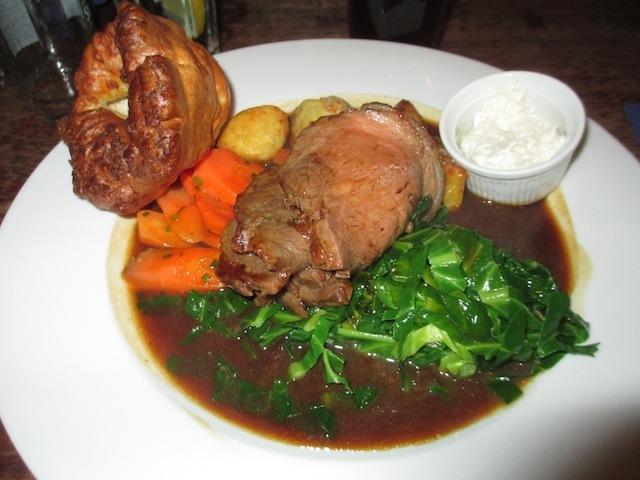 Sunday roast, of a beefy persuasion.