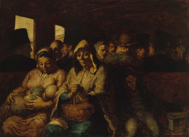 Honoré Daumier  The Third Class Railway Carriage, 1862-64  Oil on canvas  65.4 x 90.2 cm  The Metropolitan Museum of Art, New York     Photo © The Metropolitan Museum of Art/Art Resource/Scala, Florence