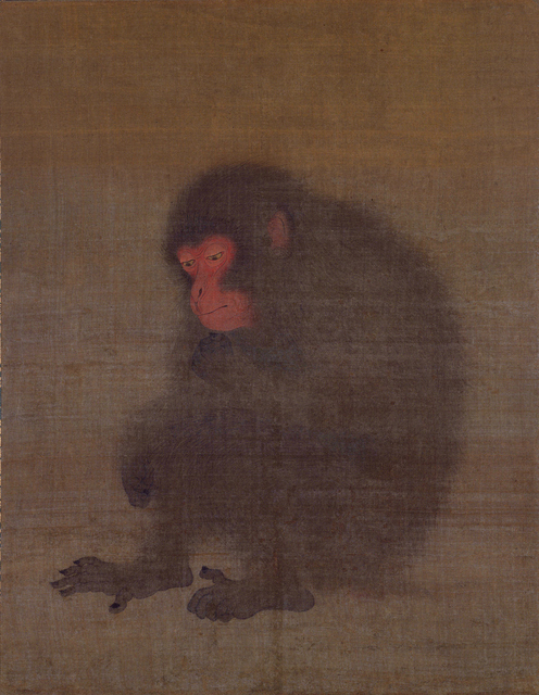 Monkey Unidentified artist; traditionally attributed to Mao Song 2nd quarter 12th century  Tokyo National Museum, Japan, Image: TNM Image Archives