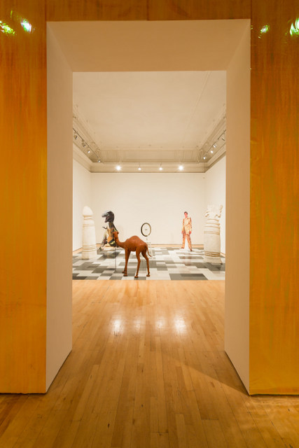 Installation shot. Lutz Bacher: Black Beauty Institute of Contemporary Arts, London Photo: Mark Blower