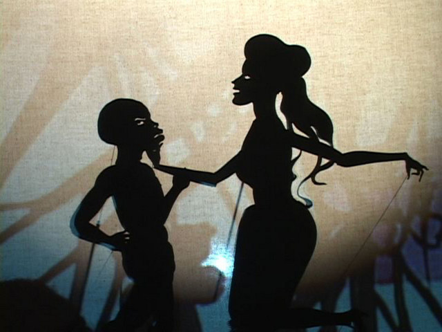 Kara Walker Still from Fall From Grace, Miss Pipi's Blue Tale, 2011 © Kara Walker Images courtesy of Sikkema Jenkins & Co., New York