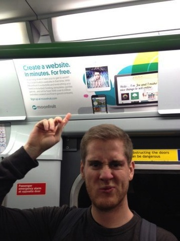 Sam Stockham spots an ad