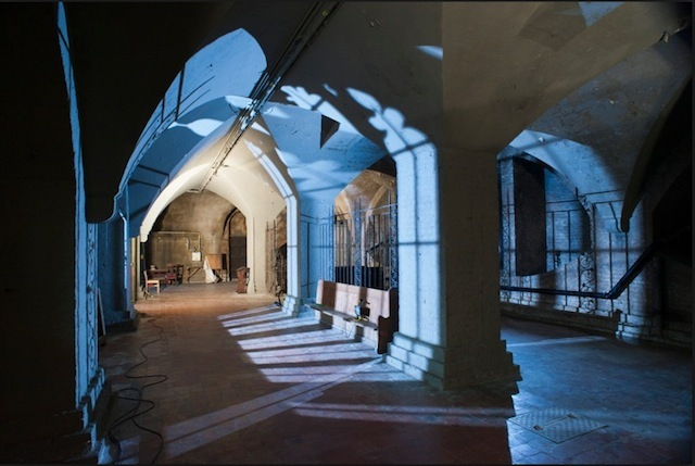 The crypt of St Mary Magdelene