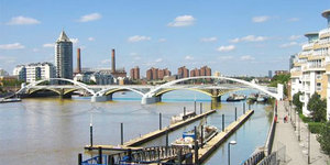 Another New Thames Bridge: Chelsea Harbour To Battersea