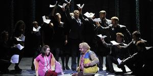 Simon McBurney Creates A Lively, Physical Magic Flute