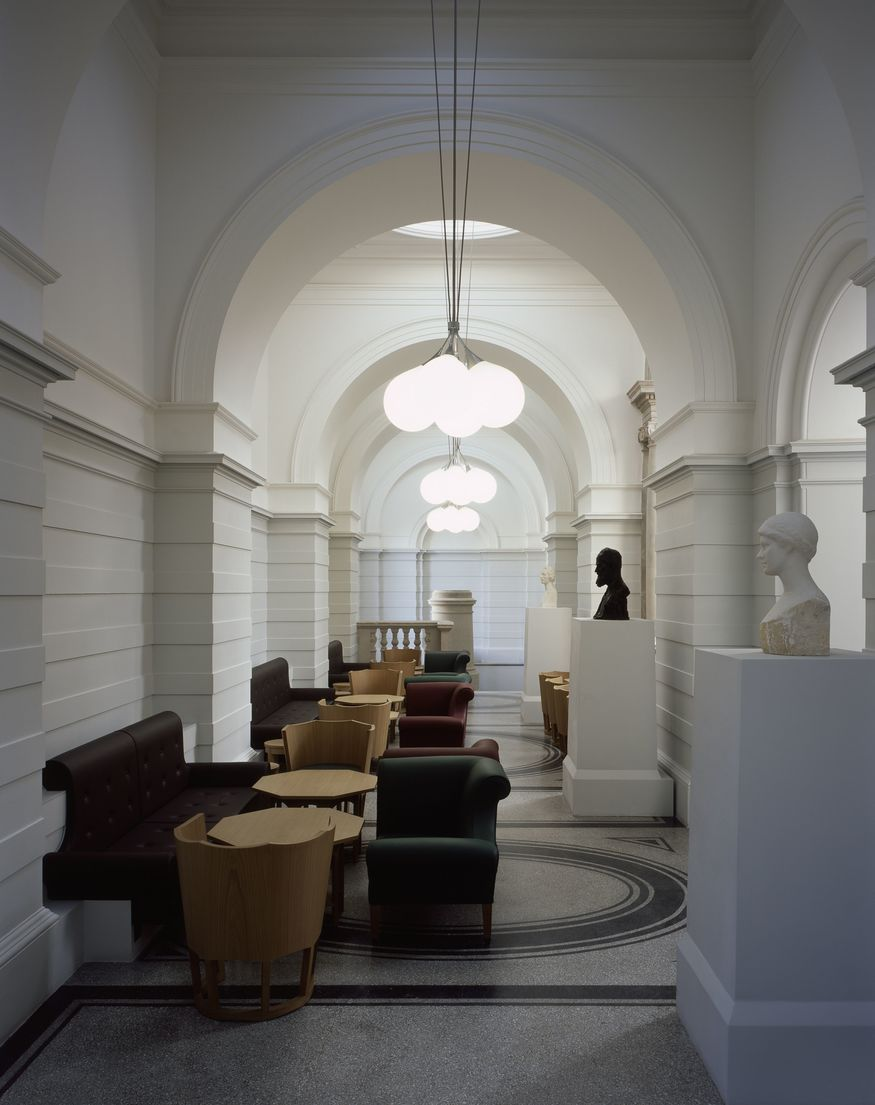 The new Members Room at Tate Britain - Courtesy Caruso St John and Tate (c) Hélène Binet