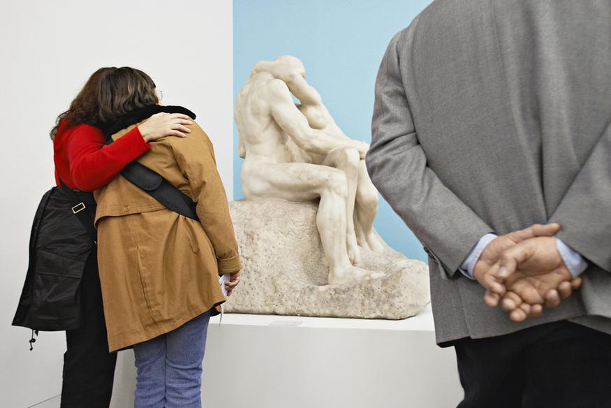 Matt Stuart - Tate Modern #01. ©Matt Stuart