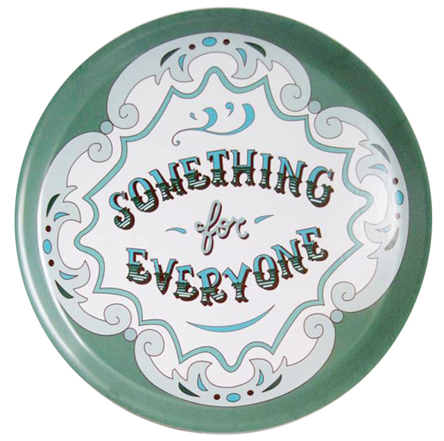 Something for Everyone Tray by Snowden Flood