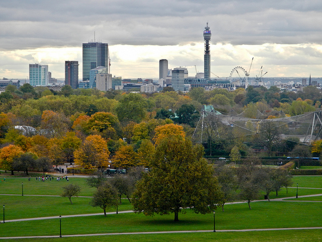 Primrose HIll view by fe_wind
