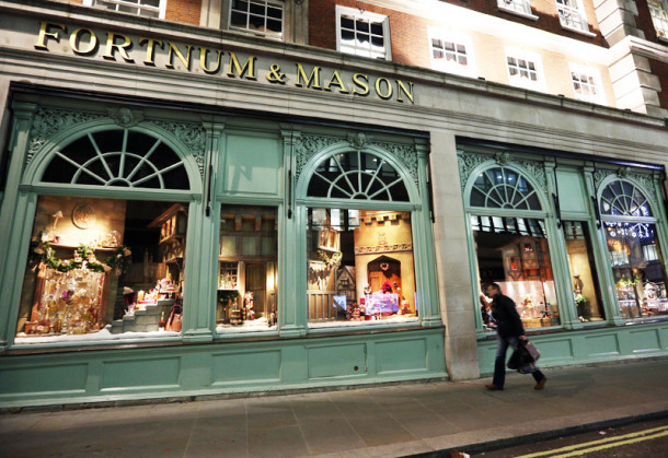 Fortnum mason opens new store in st pancras londonist for Maison mason