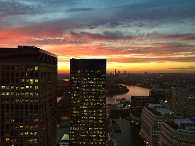 Canary Wharf view by @PaulShearsPhoto