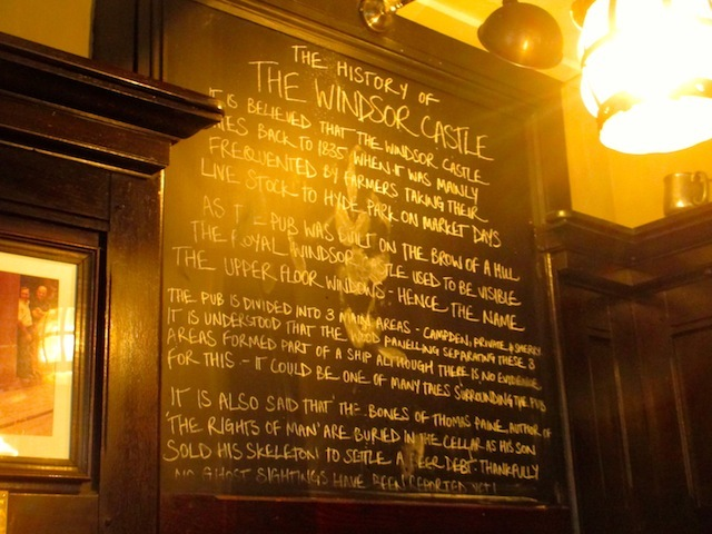 The history of the pub. Full of unverified rumours. So here's another: the upstairs toilets feature in the 1986 film Clockwise.