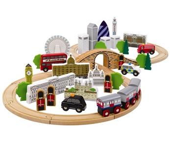 Wooden City of London Train Set £39.99