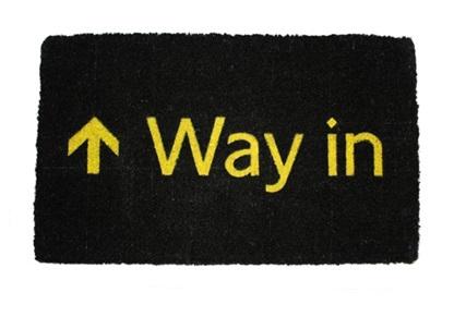 Way In Doormat £29.99