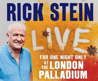 Win Tickets To See Rick Stein Live At The London Palladium