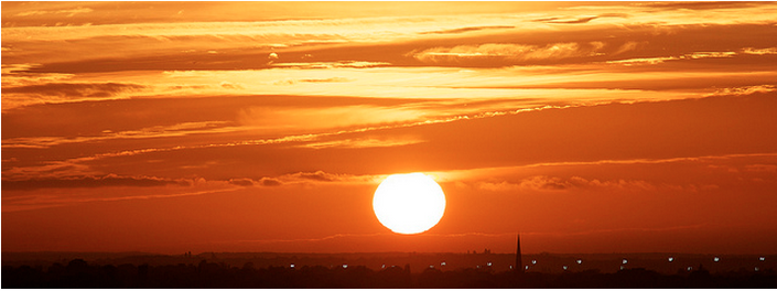 Sunset in Richmond by IanWyliePhoto in the Londonist Flickr pool.