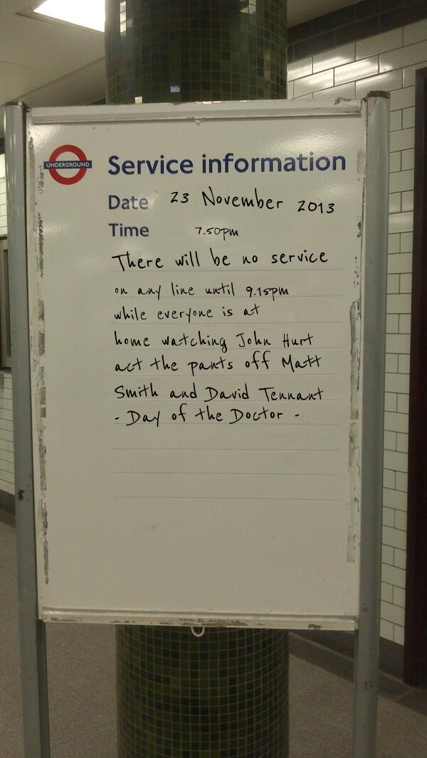 Create Your Own Tube Service Announcements