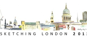 Lis Watkins: Sketching London 2013