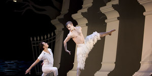 Matthew Bourne's Swan Lake Rocks Sadler's Wells
