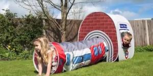 Santa's Lap: Tube Play Tent