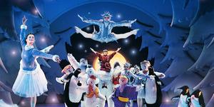 The Snowman Flies Again At Peacock Theatre