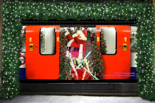 "(2008) …and hoggishly risked holding up the entire Northern Line. Said the PR team back then, ""Santa will be faced with the reality of life on the fast lane, having to juggle between getting ready for his round of Christmas gift deliveries and the lifestyle choices of a single man living in London."""