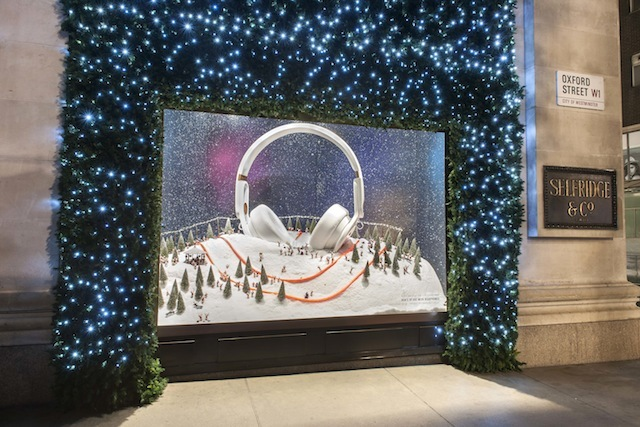 This year's Selfridges display is an instant plaudit-winner. The theme, entitled The Wish List, features oversized goodies such as massive Mixr headphones by Beats by Dre...