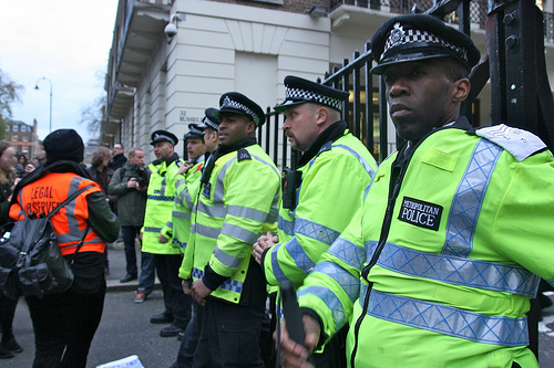 Police Clash With Protesters Over University of London Union Occupation