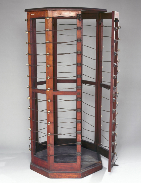 D'Arsonval cage from Riviere's clinic, Paris. Image courtesy Science Museum