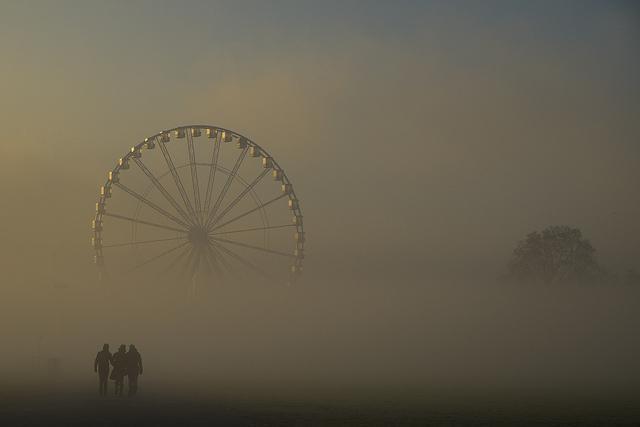 Hyde Park Winter Wonderland by Sabine Thöle