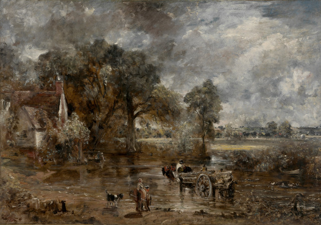 Full-scale study for Hay Wain, c.1821, John Constable 5 MB © Victoria and Albert Museum, London
