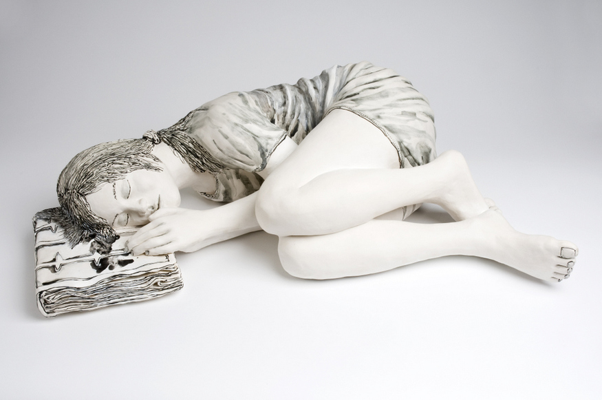 Katharine Morling, Sleeping. Image courtesy the artist and Long & Ryle.