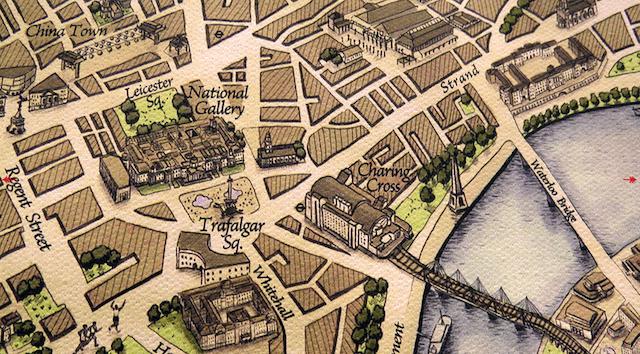 Santa's Lap: Unusual Maps Of London