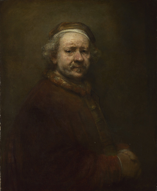 Rembrandt (1606-1669) Self Portrait at the Age of 63 © The National Gallery, London