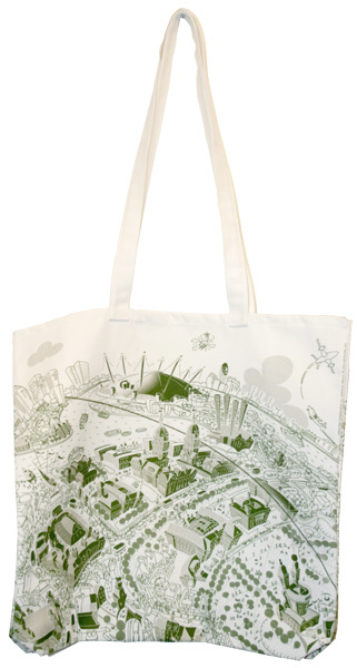 Tote bag of Greenwich.